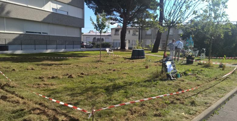 Emplacement jardin partagé PepSE Brest